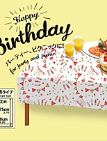 130cm*175cm PE Printed Tablecloth/Disposable Tablecloth/Birthday Party Supplies