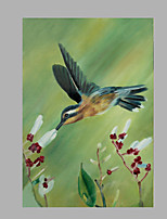 IARTS® Oil Painting Green Flying Bird Wall Art Acrylic Canvas Wall Art For Home Decoration