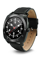 Hombre Reloj de Moda Digital Resistente al Agua Caucho Banda Negro Marrón Color Beige