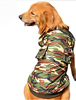 Dog Clothes/Jumpsuit Dog Clothes Casual/Daily Police/Military