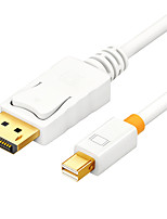 SAMZHE   ZJX-380   DisplayPort Adapter Cable DisplayPort to Mini Displayport Adapter Cable Male - Male Gold-Plated Copper 1.5m(5Ft)