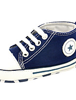 Baby Boy's Shoes Soft Anti-Slip Sole Casual Canvas Infant Girl's Fashions Sneaker Toddler First Walkers Shoes