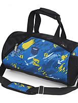 Women Travel Bag Oxford Cloth All Seasons Casual Sports Outdoor Duffel Zipper Purple Red Black Blue