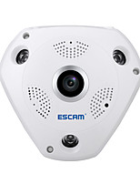 ESCAM® shark QP180 HD 960P H.264 1.3MP 360 Degree Panoramic Fisheye Infrared Camera  Support VR Box