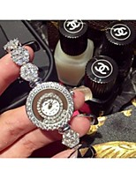 Women's Fashion Watch Quartz Alloy Band Silver Rose Gold