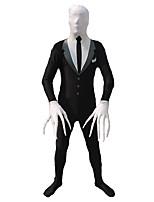 Zentai Suits Morphsuit Ninja Zentai Cosplay Costumes Patchwork Leotard Zentai Lycra Men's Halloween Christmas