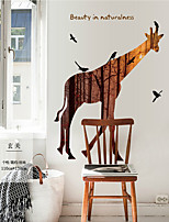 Animals Cartoon Fashion Wall Stickers Plane Wall Stickers Decorative Wall Stickers,Plastic Material Home Decoration Wall Decal