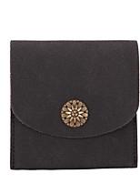 Women Money Clip PU All Seasons Casual Square Magnetic Blushing Pink Dark Blue Black