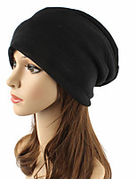 Unisex Cotton Beanie Floppy Hat Headwear Cute Casual Chic & Modern Casual/Daily Knitwear Solid Fall Winter Pure Color Cap Brown/Black/Grey