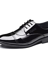 Men's Oxfords Comfort Rubber Spring Fall Outdoor Comfort Flat Heel Black Under 1in