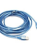 USB 2.0 Adattatore, USB 2.0 to USB 2.0 Adattatore Maschio/femmina 5.0m (16ft)