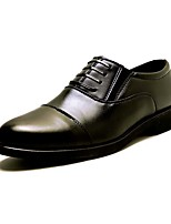 Men's Loafers & Slip-Ons Formal Shoes PU Summer Fall Wedding Party & Evening Casual Rivet Split Joint Black 1in-1 3/4in