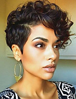 Novel Fashion Short Curly Hair Wigs Synthetic Wig