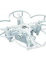Drone 124+ 4 canaux 6 Axes - Eclairage LED Retour Automatique Mode Sans Tête Vol Rotatif De 360 DegrésQuadri rotor RC Télécommande Câble