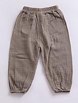 Pantaloncini Da ragazza A strisce Monocolore Estate