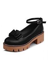 Для женщин Обувь на каблуках Удобная обувь Оригинальная обувь Дерматин Полиуретан Лето Осень Для праздника Для вечеринки / ужинаДля
