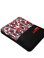Dog Bed Pet Mats & Pads Color Block Warm Soft Red Blue Camouflage