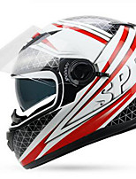 YOHE YH-970 Motorcycle  Helmet Double Lens Helmet Men & Women Winter Helm Cold Boots Electric Car Winter 970 White Powder By Pink Order