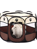 Soft Pet Playpen Exercise Pen Multiple Sizes and Colors Available for Dogs Cats and Other Pets
