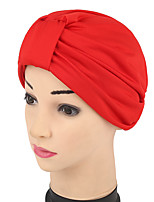 Women's Fashion Floppy Bucket  Red Pink Gray Navy Blue Black Beige Turban Hat & Cap