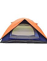 2 personnes Tente Tente pliable Tente de camping Toile Résistant à l'humidité Etanche Garder au chaud Pliable Tente