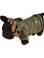 Dog Coat Dog Clothes Casual/Daily Solid