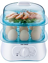 TONZE DZG-W30Q Egg Cooker Double Eggboilers Multifunction Creative Mini Style Low Noise Power light indicator Detachable Upright Design 220V