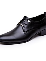 Men's Shoes Libo New Style Hot Sale Office / Casual Comfort Low Heel Classic Oxfords Brown / Black