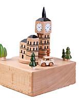 Music Box Castle Wooden