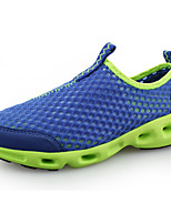 Для мужчин Мокасины и Свитер Удобная обувь Тюль Весна Лето Повседневные На плоской подошве Черный Темно-серый Тёмно-синий 7 - 9,5 см