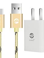 USB 2.0 Cabo, USB 2.0 to USB 2.0 Tipo C Cabo Macho-Macho 1.0m (3 pés)