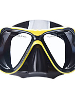 Дайвинг Маски Маска для снорклинга Портативные Водонепроницаемый Подводное плавание и снорклинг силиконовый