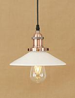 Pendentif lumière rétro pays électropliqué fonctionnalité pour les mini designers de style led métal salon salle à manger salle d'étude /