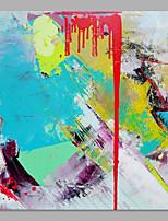 Dipinta a mano Paesaggi Verticale,Artistico Astratto Un Pannello Tela Hang-Dipinto ad olio For Decorazioni per la casa