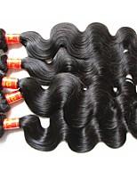 Оптовое верхнее качество малайзийского человеческого тела волна тела 5bundles 500г много 100% оригинальные виргинские волосы материал