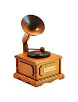Scatola musicale Grammofono Cristallo
