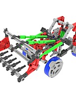 DIY KIT Display Model Building Blocks Educational Toy For Gift  Building Blocks Car Forklift Excavating MachineryPlastics Acetate/Plastic