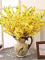 5 Branch Winter Jasmine Home Decoration Artificial Flowers