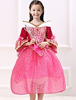 Girl's European And American Fashion Sleeping Beauty Princess Elo Dress