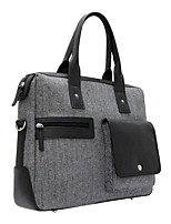 Unisex Bags All Seasons Cowhide Tote with for Casual Office & Career Coffee