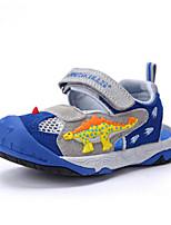 Boys' Sandals Comfort Summer Cowhide Casual Animal Print Flat Heel Orange Royal Blue Flat