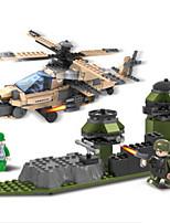 Costruzioni per il regalo Costruzioni Portaerei Elicottero Plastica 6 anni e sopra Giocattoli