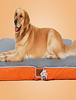 Dog Bed Pet Mats & Pads Color Block Soft Washable