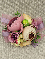 Wedding Flowers Grace Wrist Corsages Wedding / Special Occasion Lace / Satin / Fabric The Bride's Wrist Flower 1 Piece