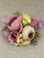 Свадебные цветы Букетик на запястье Свадебное белье Для специальных случаев Кружево Около 6 см