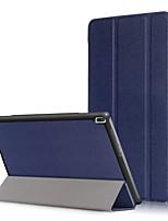 Cubierta de la caja de la PU para la lengüeta 4 del tab4 del lenovo 10 x304f tb-x304f tab4-x304n tb4-x304 con el protector de la pantalla