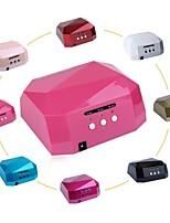 PINPAI 8 Colors 36W Induction Diamond Lamp Led UV Phototherapy Lamp QQ Nail Glue Gel Generic Nail Tools