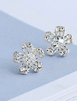 Women's Stud Earrings Basic Classic Rhinestone Alloy Jewelry For Engagement Gift Daily Casual Evening Party