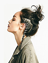Lady Casul Hair Jewelry Hair braids accessories cornrow hairstyles braidig hair Braiding ring Wig Accessories Metal Wigs Hair Tools 10 pcs a pack