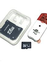 16gb tarjeta de memoria microdhc tf con lector de tarjetas usb y sdhc sd adaptador